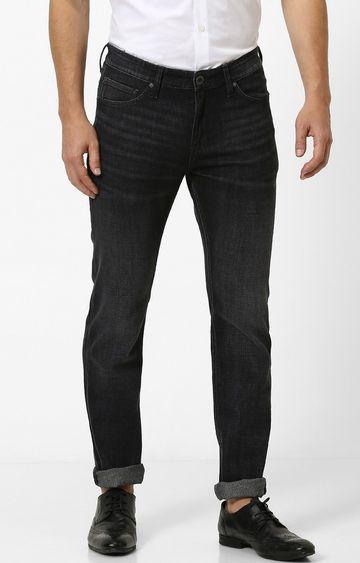 celio   Black Solid Slim Fit Jeans