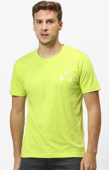 celio | Lemon Yellow Solid T-Shirt