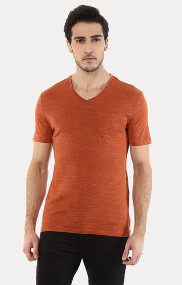 celio | Vebasic Orange Melange T-Shirt