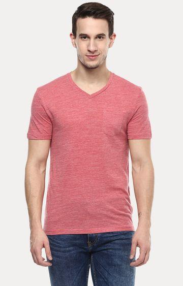 celio | Pink Melange T-Shirt
