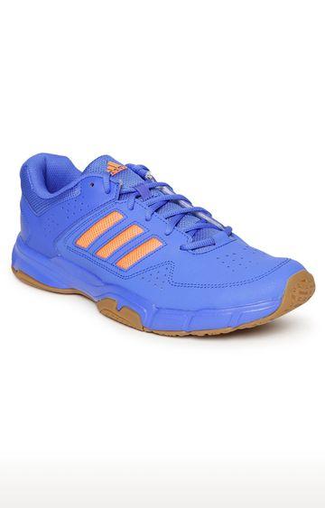 adidas   Blue Badminton Shoes
