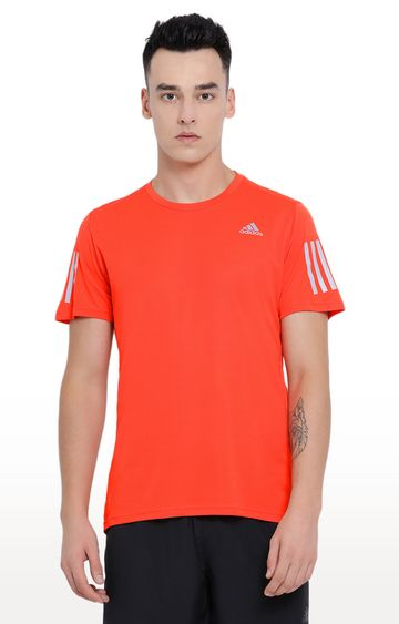 adidas | Red Solid T-Shirt