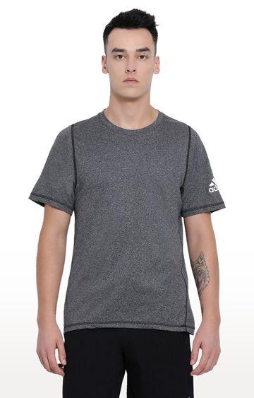 adidas | Grey Melange T-Shirt