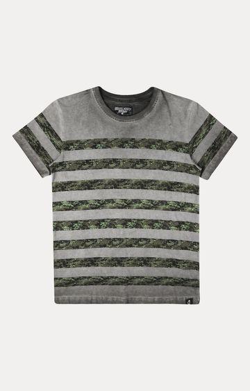 Gini & Jony   Black Striped T-Shirt
