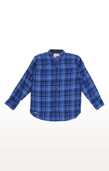 Gini & Jony | Blue Checked Shirt