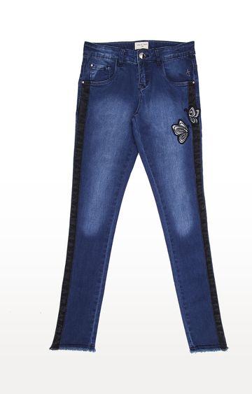 Gini & Jony | Black Solid Jeans