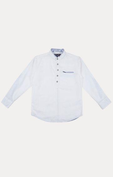 Gini & Jony | White Solid Shirt