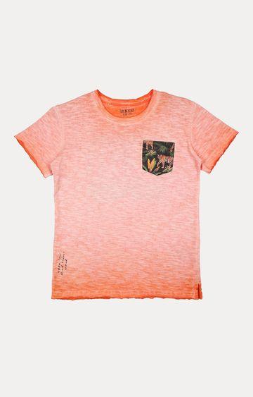 Gini & Jony   Orange Melange T-Shirt