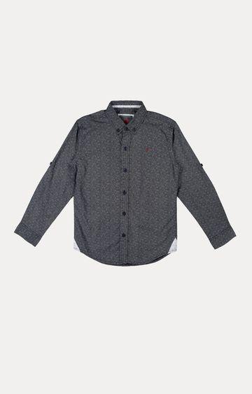 Gini & Jony | Grey Melange Shirt