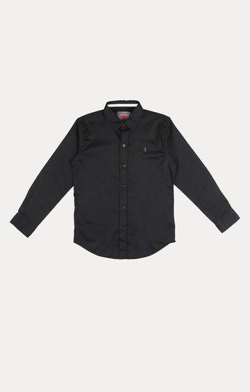 Gini & Jony   Black Solid Shirt