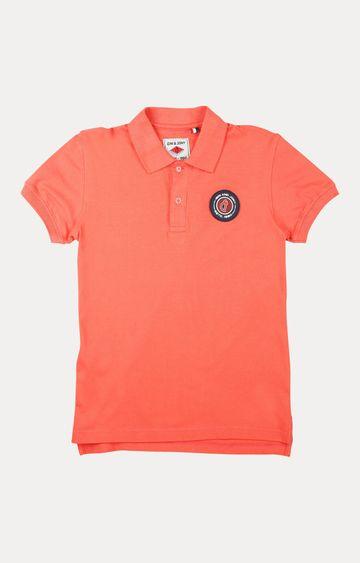Gini & Jony   Coral Melange T-Shirt