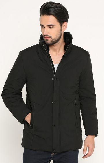 Showoff | Black Solid Jacket