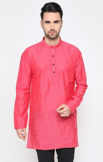 Showoff | Pink Striped Kurta