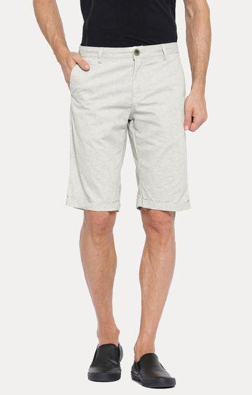 Showoff | Grey Melange Shorts