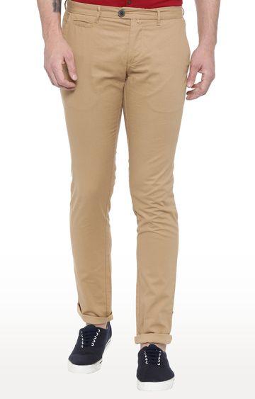 Showoff | Khaki Straight Trousers