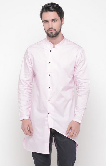 Showoff | Pink Solid Kurta