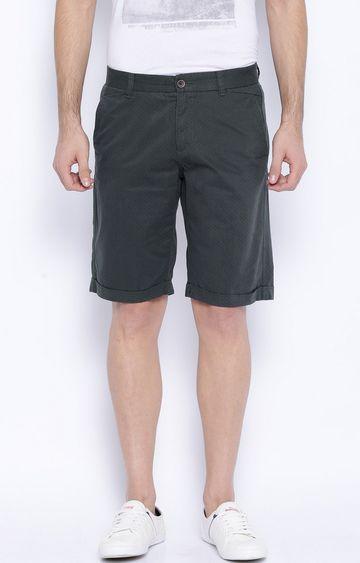 Showoff | Charcoal Solid Shorts