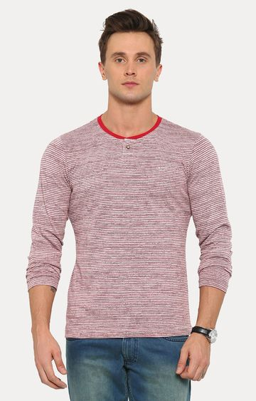 With | Red Striped T-Shirt