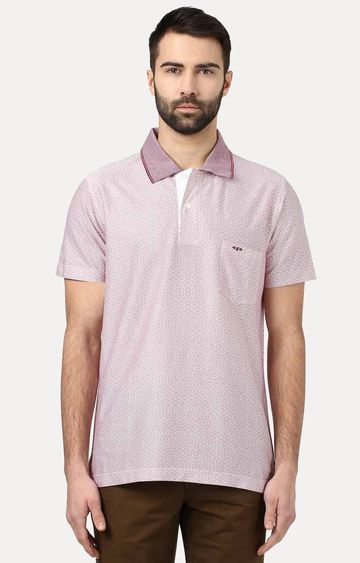 ColorPlus | Violet Printed T-Shirt