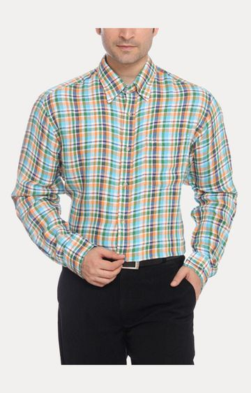 ColorPlus | Blue Casual Shirt