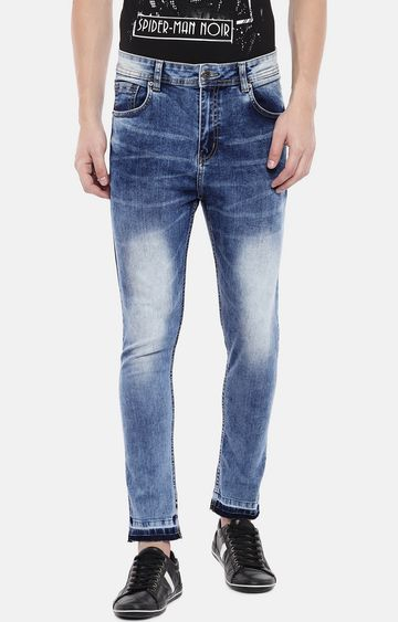 globus | Blue Mid Rise Skinny Fit Jeans