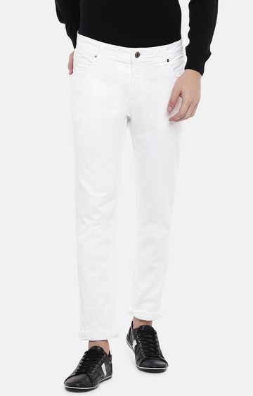 globus | White Mid Rise Skinny Fit Jeans