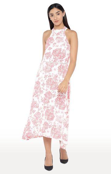 globus   White Printed Maxi Dress