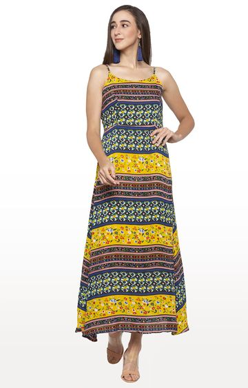 globus | Multicoloured Printed Maxi Dress