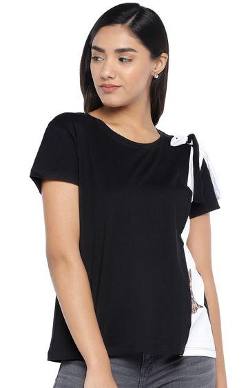 globus | Black Solid T-Shirt