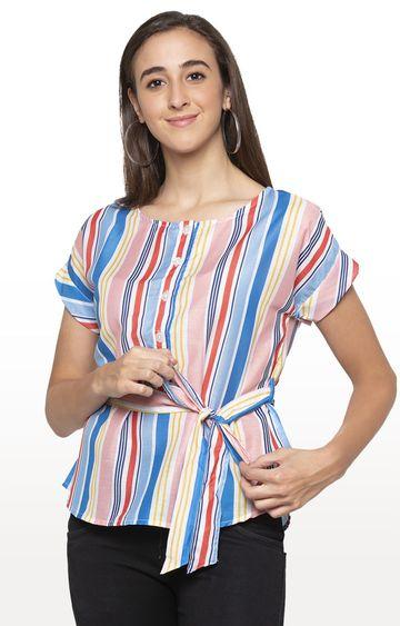 globus | Multicoloured Striped Top