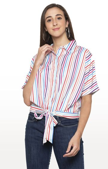 globus   Multicoloured Striped Top