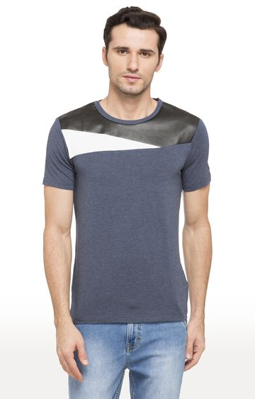 globus | Blue Melange T-Shirt