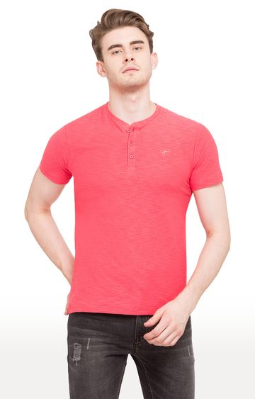 globus | Pink Solid T-Shirt