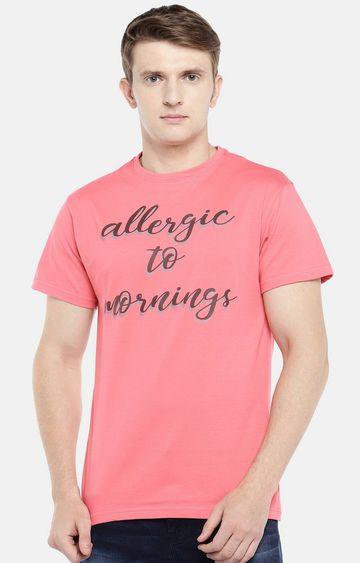globus | Coral Printed T-Shirt
