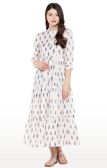 globus | Beige Printed Maxi Dress