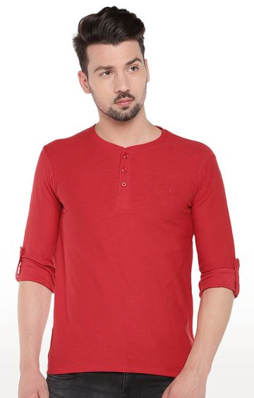 globus | Red Solid T-Shirt