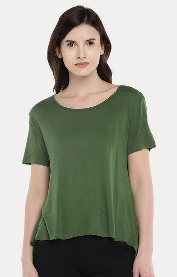 globus | Green Solid Top