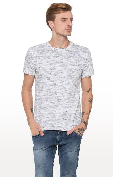 globus | White Melange T-Shirt