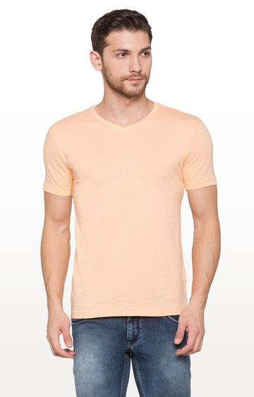 globus | Coral Solid T-Shirt