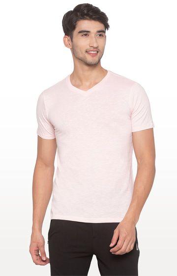 globus | Pink Solid T-Shirt
