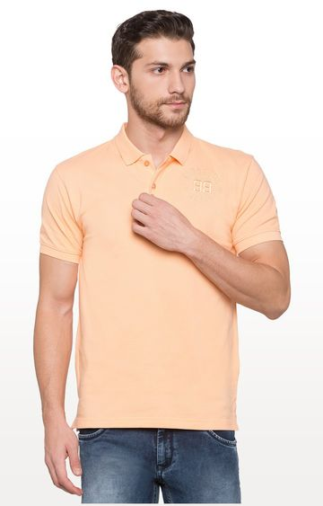 globus | Coral Solid Polo T-Shirt