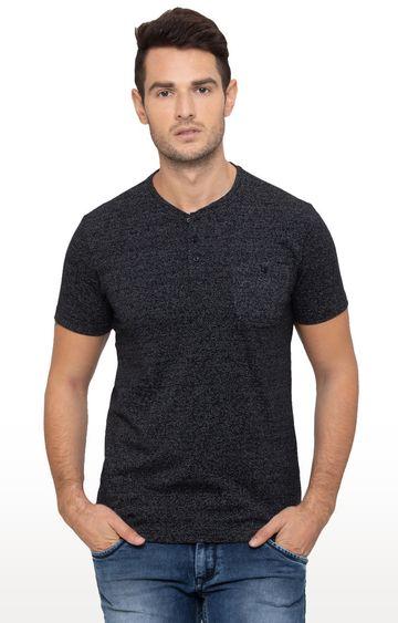 globus   Black Melange T-Shirt