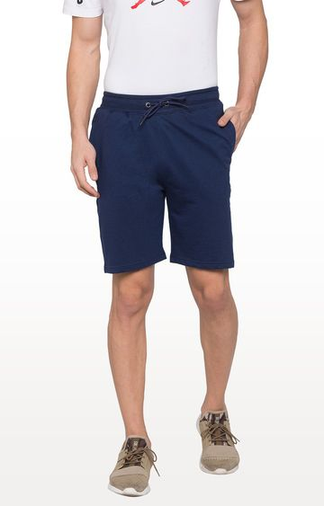 globus | Blue Solid Shorts
