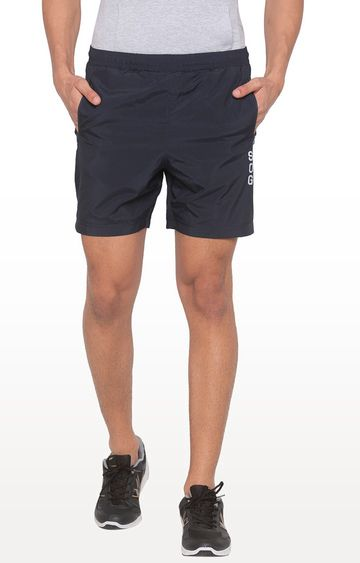 globus | Navy Solid Shorts