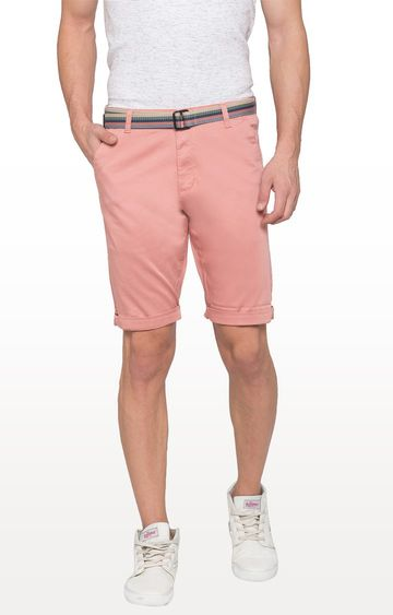 globus | Pink Solid Shorts