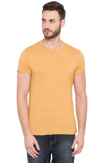 globus | Yellow Melange T-Shirt