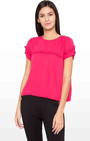 globus | Pink Solid Top