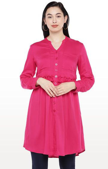 globus | Pink Solid Tunic
