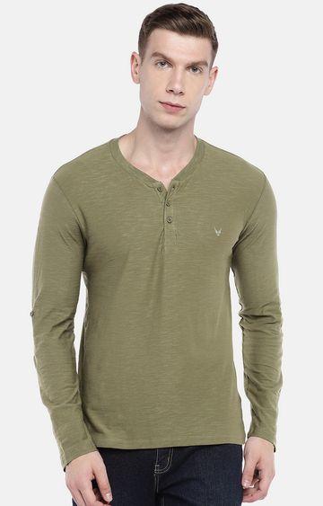 globus | Olive Melange T-Shirt