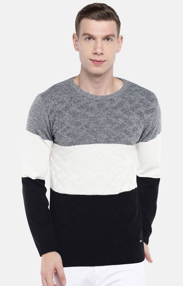 globus | White Melange Sweatshirt